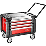 JET.CR4M3 FACOM JET 4 DRAWER ROLLER CABINETS - 3 MODULES PER DRAWER RED 774X546X621MM HIGH