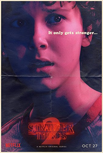 Stranger Things Eleven Poster 70x45