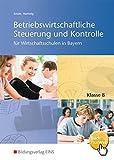 Betriebswirtschaftliche Steuerung und Kontrolle für Wirtschaftsschulen in Bayern: Schülerband 8