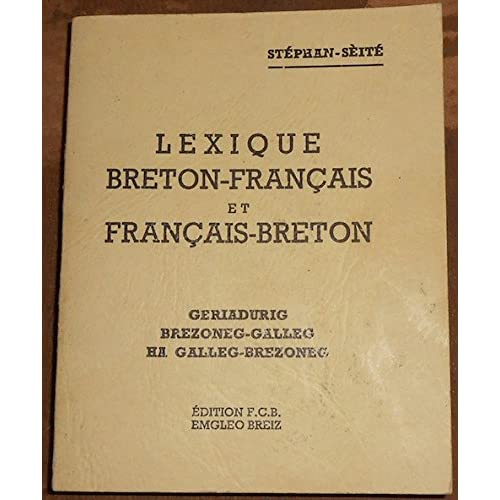 Lexique Breton-Français et Français-Breton