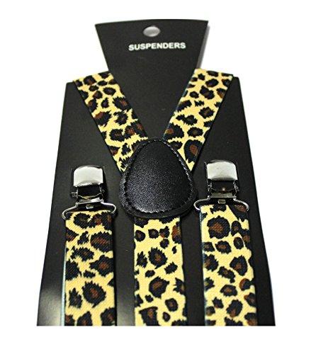 Hosenträger Y-Form Wildkatze Leopard Katze Tiger (Tiger Kostüm Männer)