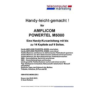 amplicom PowerTel M5000-leicht-gemacht: Handy-leicht-gemacht für amplicom PowerTel M5000
