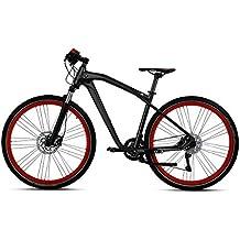 BMW Cruise M Bike - Bicicleta en color antracita y rojo, mate, tamaño S