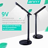 Schreibtischlampe, ANNT 13.5W LED Schreibtischleuchte Led Tageslichtlampe Dimmbare Nachtlicht...