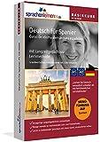 Sprachenlernen24.de Deutsch für Spanier Basis PC CD-ROM: Lernsoftware auf CD-ROM für Windows/Linux/Mac OS X