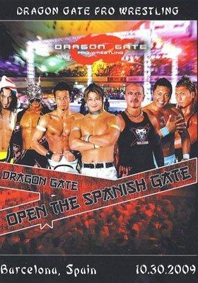 Preisvergleich Produktbild Dragon Gate Pro Wrestling - Open the Spanish Gate DVD-R
