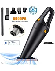 Voroly 5000PA Power Suction Handheld Car Vacuum Cleaner for Car Dry and Wet DC12V