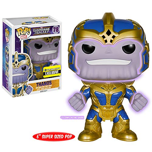 Figura Pop Vinyl Guardianes de la Galaxia Thanos 15cm