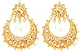Triumphin Chandbali Kundan Earrings for ...