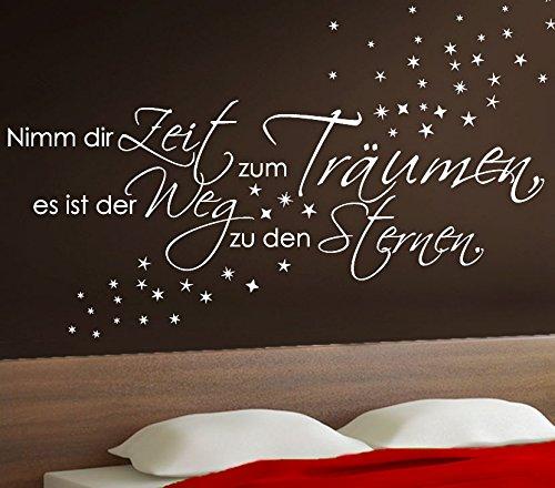 Wandora G003 Spruch Schlafzimmer Nimm dir Zeit | preispiraten.de ...