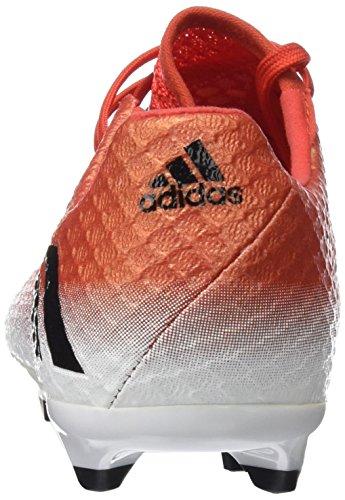 adidas Unisex-Kinder Messi 16.1 Fg J für Fußballtrainingsschuhe Rot (Rojo/negbas/ftwbla)
