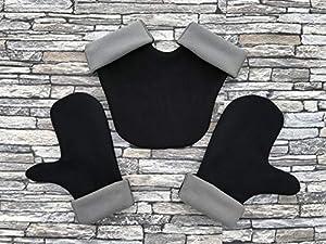 Partnerhandschuhe aus Doppelfleece - in Deutschland hergestellt -