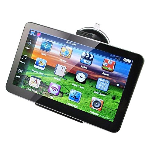 Auto-GPS-Navigationssystem, Premium 7 Zoll TFT LCD Touchscreen 8GB Spiel-Video-Player ohne Adapter_Middle East Karte