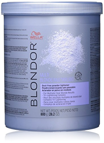 Wella Blondor Multi Blonde Powder Lightener 28.2 oz. by WELLA [Beauty] (English Manual)