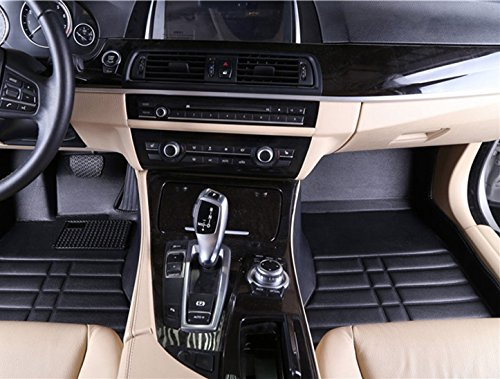 Preisvergleich Produktbild Fussmatten Fussraumschalen Schalenmatten aus Kunstleder nur passend für das unten angegebene Fahrzeug