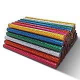 Amdai-Heißklebestick-Auswahl mit Glitter (60er-Packung) – 7 mm x 100 mm