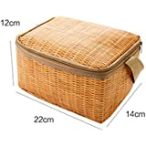 Portable Insulated Thermal Cooler Lunch Box Tote Storage Bag Picnic Container By Rambling