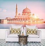Fototapete selbstklebend Putra-Moschee in Malaysia -