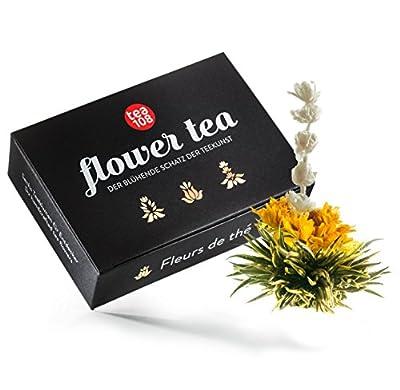Tee Geschenk aus 6 edlen Teerosen