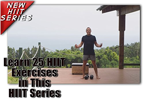 5 HIIT Workout Training Cardio for Beginner at Home Exercises Videos to Burn Fat, Improve Endurance and Build Strength