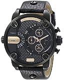 Diesel - DZ7291 - Montre Homme - Quartz Chronographe - Chronomètre - Bracelet Cuir Noir
