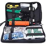 cohk Netzwerk Werkzeug Kits Professional NET Computer Wartung LAN Kabel Tester 9in 1Repair Tools