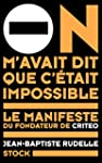 On m'avait dit que c'�tait impossible...