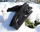 Winterhandschuhe, Cotop Outdoor Windundurchlässig Radfahren Jagd Kletter Sport Touchscreen Handschuhe für Smartphone(Rosa,S) -