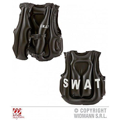 Kugelsichere Kostüm Weste Polizei (Aufblasbare