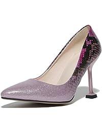 DIMAOL Zapatos de Mujer Denim Materiales Personalizados polipiel Primavera Verano Bomba Básica Novedad Tacones...