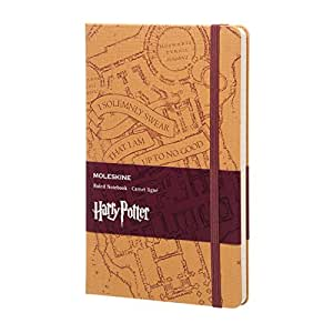 Harry Potter Carnet Grand Format Ligne Marauders'Map