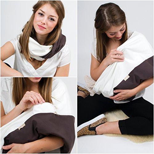 L'écharpe-tube d'allaitement \