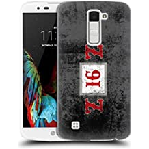 Ufficiale ZZ Top 2016 Artwork & Loghi Cover Retro Rigida per LG K10 / K10 Dual SIM