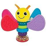 """Lamaze Baby Rassel """"Freddie, das Glühwürmchen"""" mehrfarbig - hochwertiges Kleinkindspielzeug - Lernspielzeug fördert die Motorik Ihres Kindes - ab 6 Monate"""