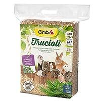 جيمبي نشارة خشب طبيعية وصحية للحيوانات الصغيرة , 60 لتر