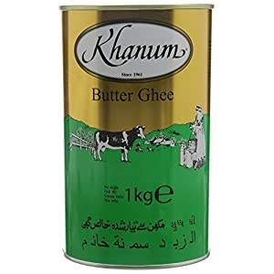 Khanum Butter Ghee 1 Kg 6