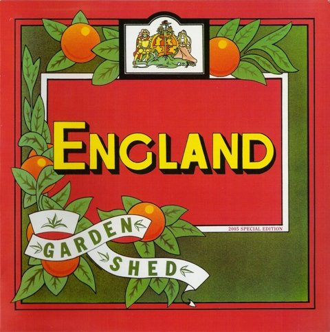 England - Garden Shed - Ltd. Edn. (Red Vinyl LP) England-garden Shed