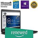(Renewed) Dell Latitude E7450 14-inch Touchscreen Laptop (5th Gen Core i7/16 GB/512 GB SSD/Windows 10/Intel HD Graphics), Black