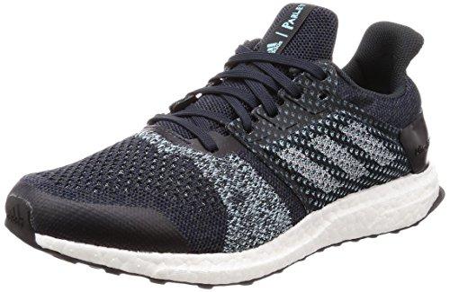 adidas Ultraboost St M Parley, Zapatillas de Running para Hombre, Azul (Legend Ink F17/Clear Mint F18/Hi-Res Aqua F18), 42 2/3 EU