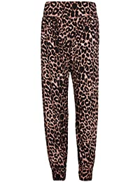 Purple Hanger - Pantalon Femme Harem Aztèque Tête Mort Long Grand Taille 0e580ff6300e