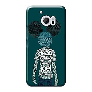 Mobile Back Cover For HTC 10 (Printed Designer Case)