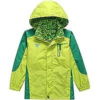 KID1234 Jacke Jungen Leichte Wasserdichte Regenjacke Kinder Outdoor Mantel Kinder Kapuzen Kleidung Geeignet 7-16 Jahen
