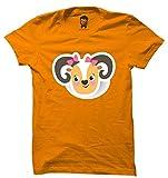 RappersShop Cute Lil Deer Men Premium Men's Round Neck Tshirt With Highest Quality Graphic Prints (Cute Lil Deer_M)