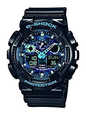 Casio GA-100CB-1AER - Reloj de pulsera hombre, Resina, color Negro