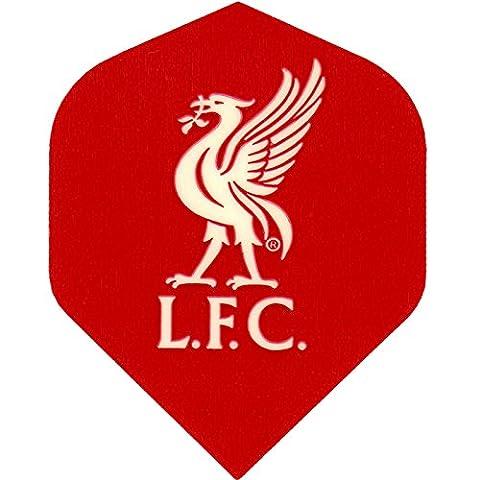 Football Fléchettes vols–Sous Licence authentique Premiership équipe vols–Liverpool–1Set (3)