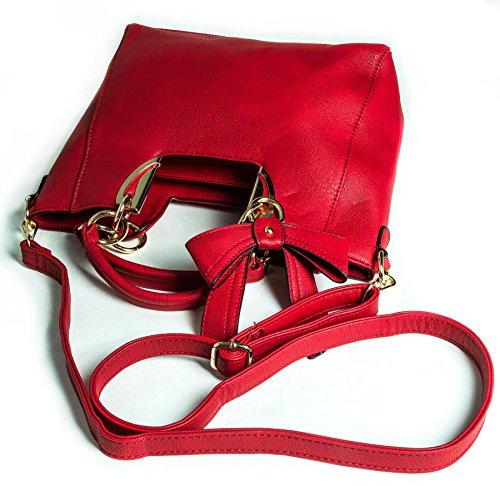 Big Handbag Shop - Borsa donna Beige (beige)