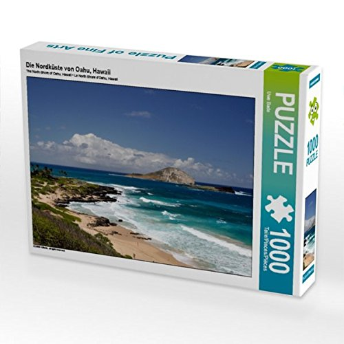 CALVENDO Puzzle Die Nordküste von Oahu, Hawaii 1000 Teile Lege-Größe 64 x 48 cm Foto-Puzzle Bild von Uwe Bade