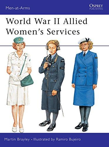 World War II Allied Women's Services por Martin Brayley