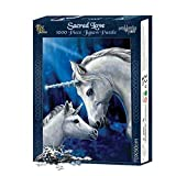 Sacred Love, unicornio con jóvenes 1000 piezas de rompecabezas multicolor - Fantasy - Nemesis Now
