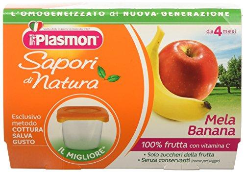 Plasmon Omogeneizzato di Frutta Mela-Banana Sdn - 24, usato usato  Spedito ovunque in Italia